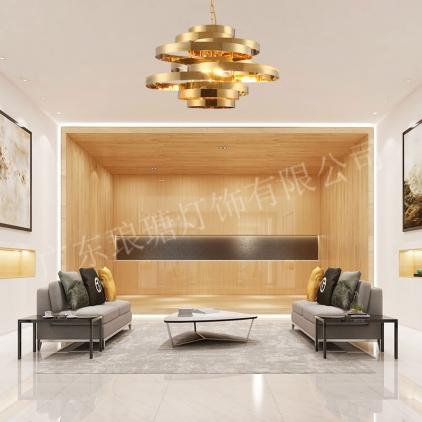 客厅现代灯