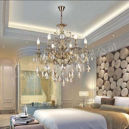 迪拜水晶蜡烛灯