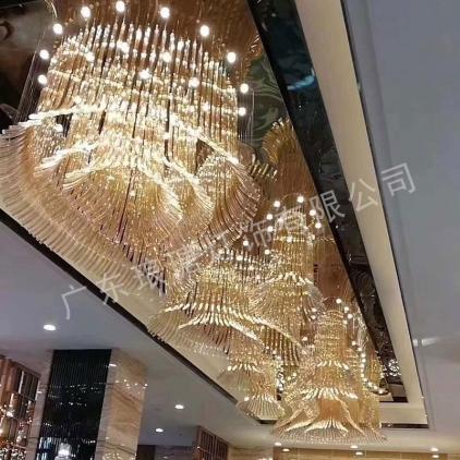 迪拜非标酒店工程灯