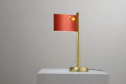 迪拜红旗台灯